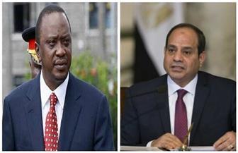 الرئيس السيسي يبحث عددا من قضايا القارة الإفريقية في اتصال هاتفي مع نظيره الكيني
