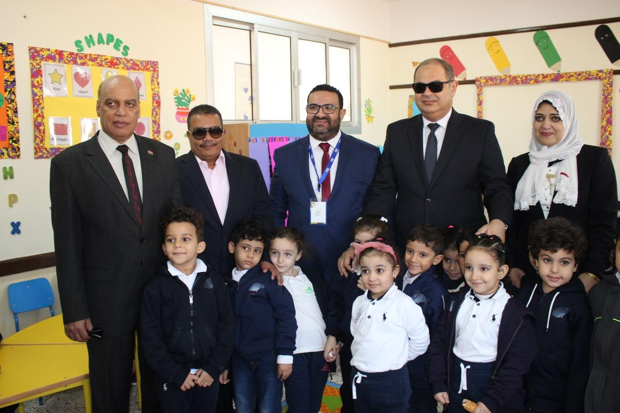 """محافظ الغربية يفتتح المدرسة الرسمية الدولية فى """"سبرباى"""" بطنطا"""