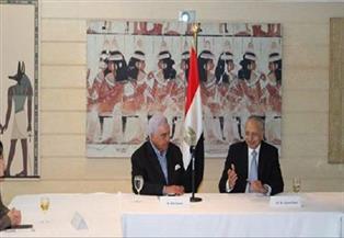 السفارة المصرية في طوكيو تنظم محاضرة لزاهي حواس مع أساتذة علم المصريات بالجامعات اليابانية