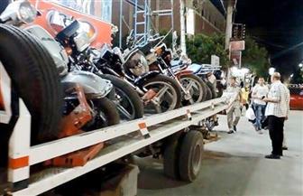 ضبط 2300 دراجة نارية مخالفة في 4 أيام