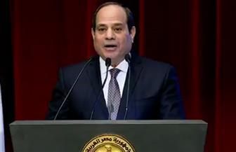 الرئيس السيسي: الدولة قدمت عدة مبادرات للاستثمار في الإنسان المصري