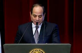 الرئيس السيسي: تزايد أعداد الملتحقين بالأكاديمية الوطنية لتكنولوجيا المعلومات