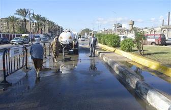 محافظ كفرالشيخ يتابع جهود رفع مياه الأمطار من الشوارع لليوم الثالث على التوالي | صور