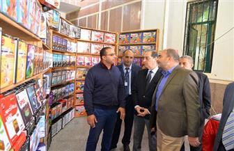 افتتاح معرض جامعة المنصورة الثامن للكتاب | صور