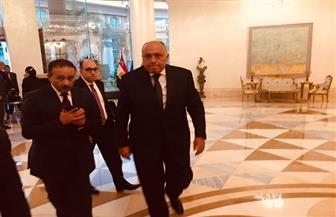 وصول وزراء الخارجية والتضامن والتعليم العالي والكهرباء لاحتفالية مؤسسة الأهرام بمئوية الشيخ زايد