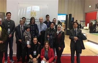 """وزيرة الهجرة تكرم الضباط المصابين بإنجلترا.. وتدعوهم لزيارة معرض """"عقارات مصر"""" في لندن   صور"""