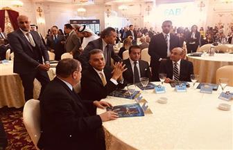 وصول وزير شئون مجلس النواب للمشاركة في احتفالية الأهرام بمئوية الشيخ زايد