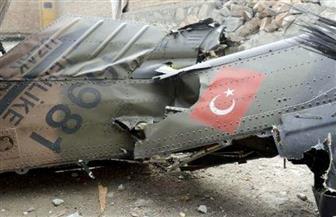 تحطم مروحية عسكرية تركية فوق أحد الأحياء السكنية بإسطنبول