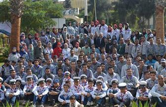 استمرار فعاليات دورات الجوالة الكشفية والإرشادية بجامعة المنصورة حتى 29 من الشهر الجاري