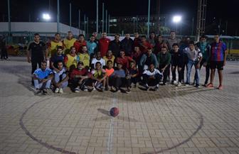 انطلاق بطولة كرة اليد للمدن الجامعية في سوهاج | صور