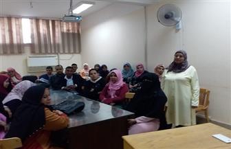 """دورة تدريبية للممرضين عن """"تمريض العمليات"""" في جامعة سوهاج   صور"""