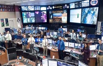 هبوط مسبار ناسا على سطح المريخ بنجاح | فيديو وصور