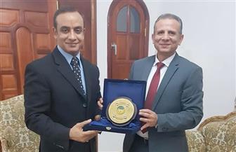 سفير مصر بموريتانيا يقترح افتتاح فرع لجامعة طنطا بنواكشوط | صور