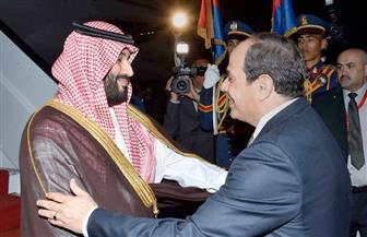 القاهرة والرياض..علاقات متجذرة وتطابق رؤى فى القضايا الإقليمية المتأزمة