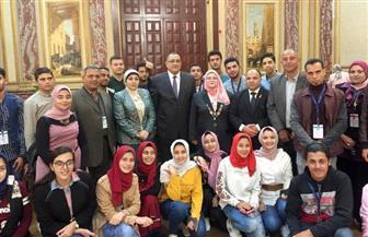 وفد من طلاب محافظة كفرالشيخ يقضون يوما كاملا فى ضيافة مجلس النواب| صور
