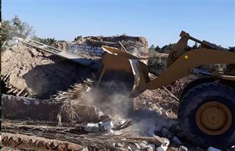 حملة مكبرة لإزالة التعديات على الأراضي الزراعية بواحة باريس