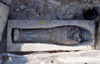 كشف أثري جديد لعدد من التوابيت الأثرية بدهشور | صور
