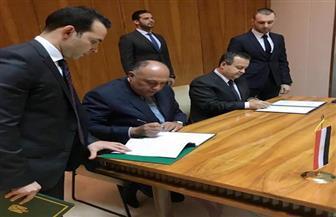 وزير الخارجية يشهد توقيع مذكرتي تفاهم في مجال الشباب والرياضة مع صربيا