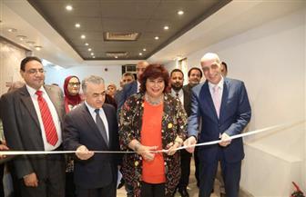 وزيرة الثقافة تفتتح ملتقى للتشكيليين الحاصلين على منح التفرغ |صور