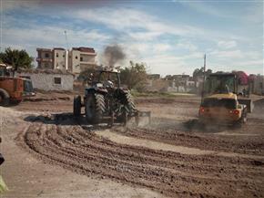 إزالة 118 حالة تعد على الأراضي الزراعية  بالشرقية |صور