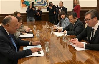 المتحدث باسم الخارجية: الرئيس الصربي عبر عن تقديره للعلاقات مع مصر | صور