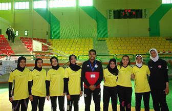 هزيمة فريق فتيات جامعة المنوفية في البطولة العربية لكرة القدم بجنوب الوادي| صور