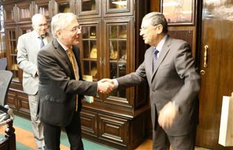 وزير الكهرباء يبحث مع سفير ألمانيا بالقاهرة سبل تعزيز التعاون بين الجانبين | صور