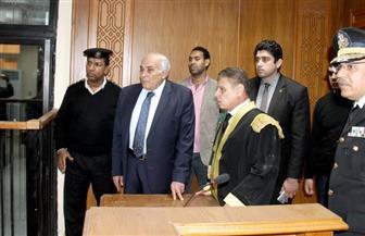 رئيس استئناف القاهرة يتفقد قاعات محاكم الجنايات الجديدة بطره | صور