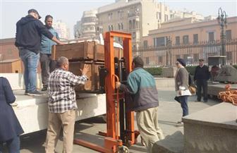 المتحف القومي للحضارة يستقبل 800 قطعة أثرية من متحف التحرير | صور