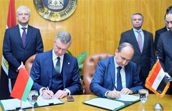 تفاصيل خارطة التعاون الاقتصادي المشترك بين مصر وبيلاروسيا| صور