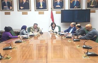 """""""نائب وزير الزراعة"""" وسفير أوروجواي يناقشان أوجه التعاون في مجالات الزراعة والإنتاج الحيواني"""
