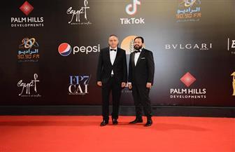 انطلاق حفل ختام مهرجان القاهرة السينمائي.. وعزف السلام الجمهوري مرتين | صور