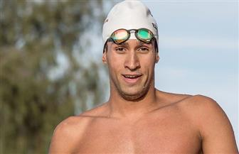 ياسر إدريس يهنئ السباح مروان القماش لتأهله إلى أوليمبياد طوكيو