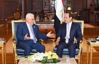 الرئيس السيسي يؤكد لأبو مازن استمرار جهود مصر لدعم القضية الفلسطينية