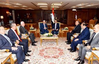 الرئيس السيسي يشدد على ثبات موقف مصر من القضية الفلسطينية المرتكز على حل الدولتين