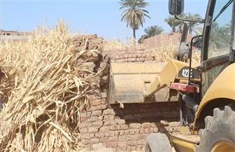 إزالة 9 حالات تعد على الأراضي الزراعية وأملاك الدولة بسوهاج | صور