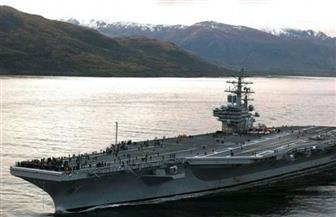 حاملة طائرات أمريكية تتقدم مجموعة سفن حربية في أكبر مناورات عسكرية حول اليابان