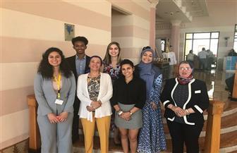 وزيرة البيئة تلتقي شباب الأمم المتحدة وتستمع لأفكارهم حول مؤتمر التنوع البيولوجي | صور
