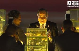 الرئيس السيسي: شباب أمتنا واجهوا التهديدات والإرهاب بالفن والثقافة قبل السلاح