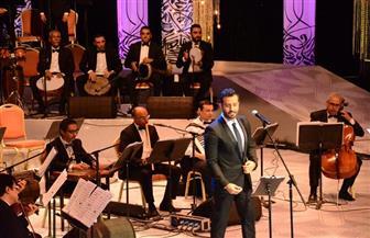 سعد رمضان فى حفل الليلة: دار الأوبرا المصرية أهم مسارح العالم