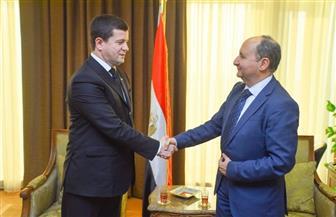 وزير التجارة والصناعة يبحث مع نظيره التركمانستانى فرص تنمية العلاقات الاقتصادية  بين البلدين
