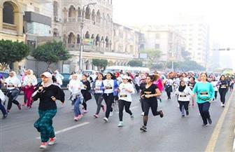 للفتيات والسيدات.. ختام أول ماراثون رسمي في مصر الجديدة | صور