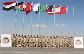 """بمشاركة 8 دول عربية.. انطلاق فعاليات """"درع العرب 1"""" بقاعدة محمد نجيب العسكرية"""