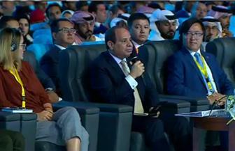 الرئيس السيسي: إرساء السلام مرتبط برؤية القيادة السياسية لكل دولة