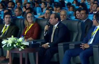 الرئيس السيسي: نتائج أول مؤتمر للشباب كانت هائلة ما دفعنا للحرص على استمراره