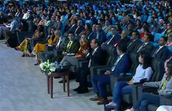 الرئيس السيسي: فكرة منتدى شباب العالم نابعة من شباب مصر بهدف نشر السلام
