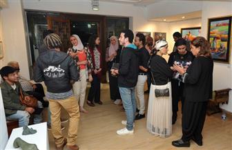 للتواصل بين أجيال التشكيليين .. جاليري المشربية يفتتح معرضًا لشباب المبدعين في الرسم والنحت والتصوير| صور