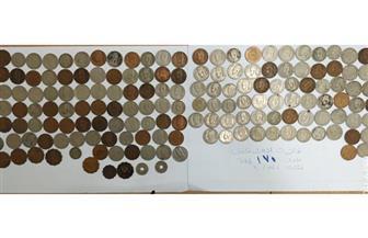 إحباط تهريب بضائع بقيمة 900 ألف جنيه وضبط 69 عملة أثرية