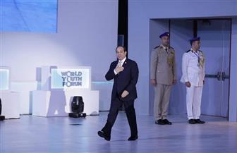 الرئيس السيسي يصل إلى مقر انعقاد مؤتمر شباب العالم لإعلان التوصيات