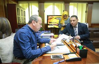 """محافظ كفرالشيخ يبحث استعدادات المحافظة للقضاء على فيروس""""سي""""  صور"""